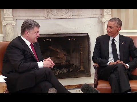 President Obama Meets with the President of Ukraine