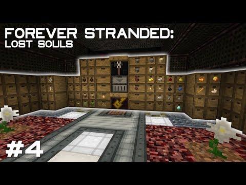 ForeverStranded 2 #4 - Сортировка склада и КВЕСТ ОТ РАЗРАБОТЧИКОВ | Выживание в Майнкрафт с модами