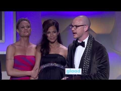 The Fosters accept for Outstanding Drama at the #glaadawards