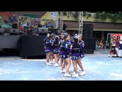 BLITZ Cheerleaders SMA 44 Jakarta