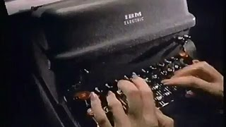 IBM Selectric Typewriters We're Your Type 1984 TV Commercial HD