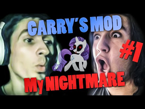 MOJ MALI PONI ! Garry's Mod - My Nightmare #1