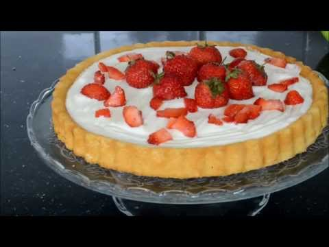 How it's made;Yoghurt & Soft cheese strawberry cake