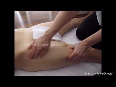LYMPHATIC DRAINAGE MASSAGE - PELVIS AREA - ASMR thumbnail