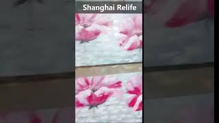 handmade video of canvas art,Flower oil painting