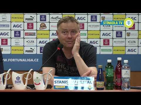 Tisková konference domácího trenéra po zápase s Příbramí (27.4.2019)