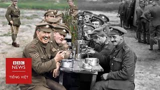 Phủ màu cho những thước phim Thế chiến thứ nhất - BBC News Tiếng Việt