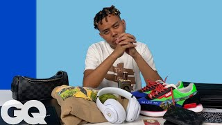 10 Things YBN Cordae Can't Live Without | GQ