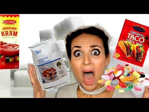 Så mycket socker innehåller 10 olika livsmedel!!!!! + tips att minska intaget