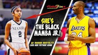 HANEP TO'NG ANAK NI KOBE! PARANG DI BABAE GUMALAW | BLACK MAMBA JR!
