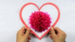 DIY Flower Pop up Card: Handmade Crafts | DIY Paper Crafts