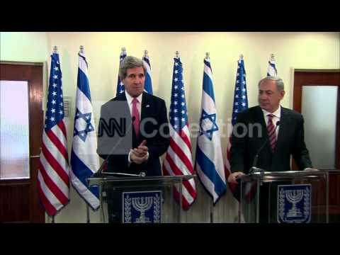 ISRAEL:KERRY NETANYAHU DISCUSS PEACE PROCESS