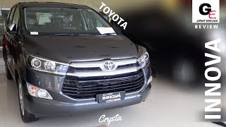 2018 Toyota Innova Crysta 2.8 ZX Automatic | detailed review | price | features | specs !!!