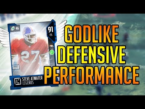 Madden 18 Ultimate Team :: 91 OVERALL GOD SQUAD! GOD LIKE PERFORMANCE  :: Madden 18 Ultimate Team