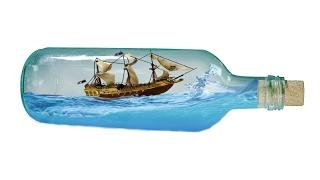 Adobe Photoshop CS6 Tutorial - Bangla - Photo Manipulation - The Pirate Ship In A Bottle