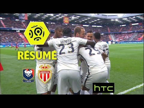 SM Caen - AS Monaco (0-3)  - Résumé - (SMC - ASM) / 2016-17
