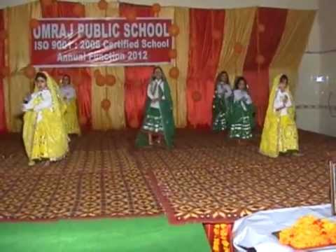 OMRAJ PUBLIC SCHOOL Annual Function 2012