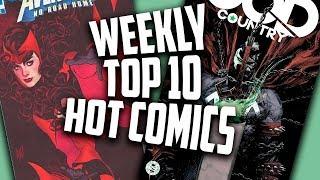 Hot Top 10 Comic Books On The Rise - FEB (Week 3) 2019