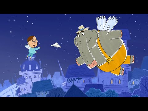 Детские песенки от Летающих зверей - Ищу слона  (из серии Игрушка (Сицилия))