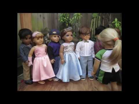 Prom!-- Americangirl Doll Stop Motion