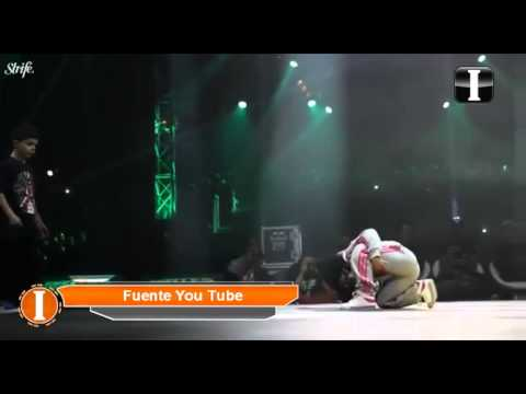 ''Terra'', la niña prodigio del Break Dance
