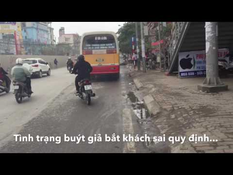 Video: Đội CSGT số 6 CA Hà Nội xử lý một xe buýt giả