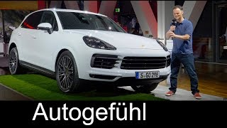 All-new Porsche Cayenne 2018 Reveal REVIEW Exterior/Interior & Porsche Musuem Feature - Autogefühl