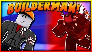 DISGUISING AS BUILDERMAN IN SUPERPOWER TRAINING SIMULATOR! (ROBLOX)