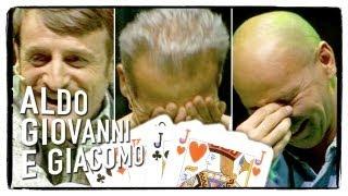 Anplagghed - Le papere di Poker  Aldo Giovanni e Giacomo