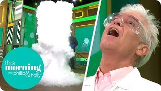 Science Experiment Makes a Massive Cloud in the Studio | This Morning