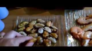Франция. Морепродукты в сливочном соусе