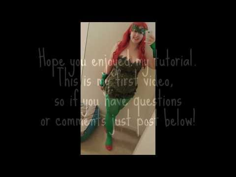 Poison Ivy Costume Tutorial