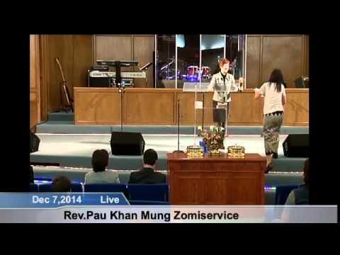 [FGATulsa]#1104#Dec 7,2014 Myanmar Service (Pastor Khin San Maw)