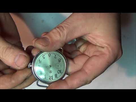 корпус карманных часов в наручные