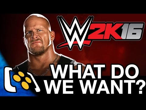 WWE 2K16 Gameplay: What Do We Want From WWE Games?