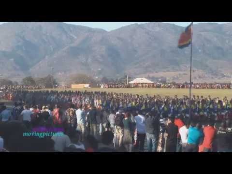 Reed Dance Ceremony zulu Culture   (proj. 5a) video