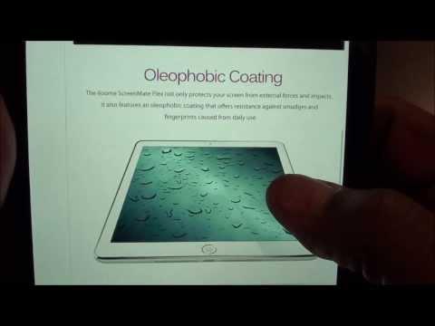 ScreenMate Flex Flexible Glass Premium Screen Protector For iPad Air