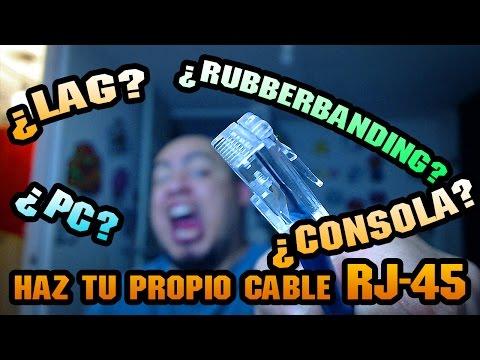 Adiós al Lag y Rubberbanding, como hacer tu propio Cable RJ45.