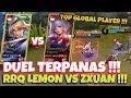 DUEL !!! Top 1 Kagura (RRQ Lemon) VS Top 1 Fanny S5 (Zxuan) Tapi Tukeran Hero!!! Siapa yg Menang ?? MP3