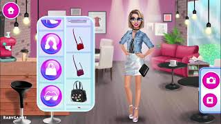 Fun Girl Care Games - Hannah's Fashion World - Makeup & Hair Salon Makeover Games For Girls