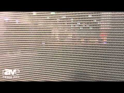 CEDIA 2014: Specialized Shading Systems Demos the ZipScreen for Outdoor Shading