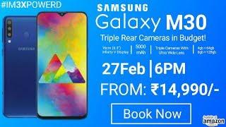 Samsung Galaxy M30 Launch Date in India | Price | Specs | Redmi Note 7 Pro Killer?  Galaxy M30