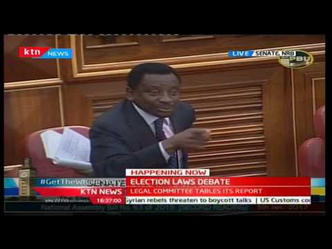 Senator James Orengo gives Kipchumba Murkomen free advice on leadership, fame and fortune