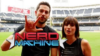 Zachary Levi - Nerd HQ Wrap-Up Video with Alison Haislip (2013) HD