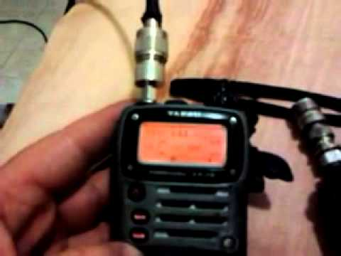 Baofeng uv-3r vs Yaesu vx-7 with external antenna under high rf noise!