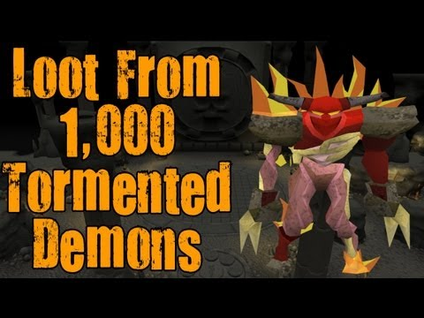 Runescape 3 – Loot From 1000 Tormented Demons