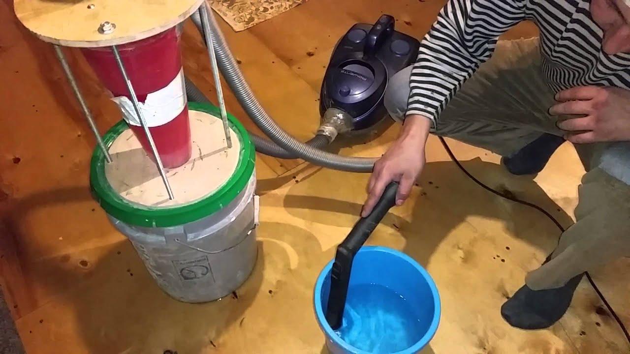 Как пылесос сделать из рук в руки 552