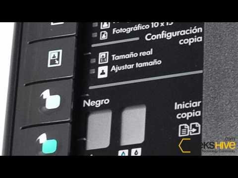 Impresora HP multifunción Deskjet F4480 - review by www.geekshive.com (Español)