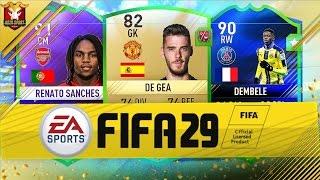 FIFA 29 CZYLI PODRÓŻ W CZASIE!!! DE GEA 82 DEMBELE 90!