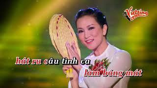 Ngợi Ca Quê Hương Em - Hương Thuỷ (Tone Nam ) Vietsing Karaoke